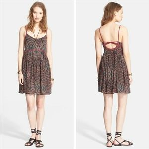 Free people periscope in the sky babydoll dress s